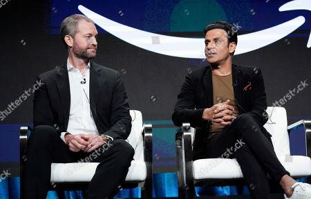 James Farrell and Manoj Bajpayee