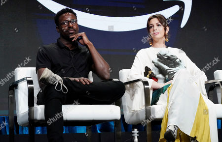 Gary Carr and Anne Hathaway