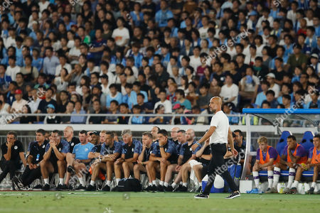 Josep Pep Guardiola head coach of Manchester City