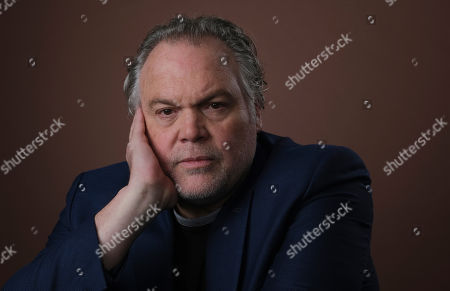 """Vincent D'Onofrio, a cast member in the Epix series """"Godfather of Harlem,"""" poses for a portrait during the 2019 Television Critics Association Summer Press Tour at the Beverly Hilton, in Beverly Hills, Calif"""