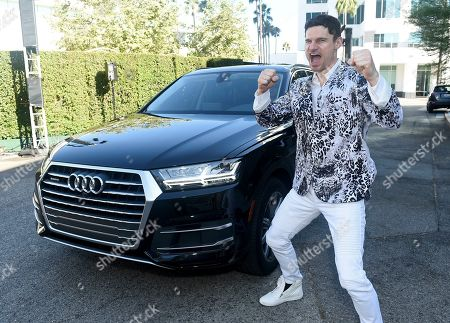 Flula Borg arrives at the 71st Los Angeles Area Emmy Awards, at the Saban Media Center at the Television Academy's North Hollywood, Calif. headquarters on