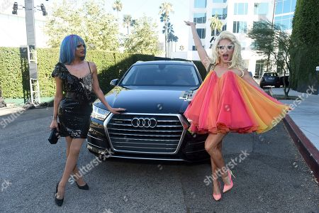 Rhea Litre, Willam Belli. Rhea Litre, left, and Willam Belli arrive at the 71st Los Angeles Area Emmy Awards, at the Saban Media Center at the Television Academy's North Hollywood, Calif. headquarters on