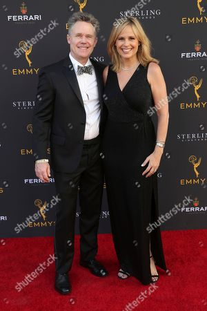 Carolyn Johnson, Kevin Smith. Carolyn Johnson, right, and Kevin Smith arrive at the 71st Los Angeles Area Emmy Awards at the Saban Media Center at the Television Academy's North Hollywood, Calif. headquarters on