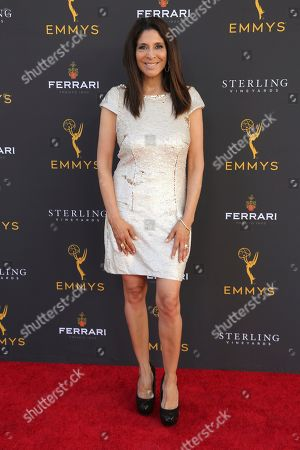Christine Devine arrives at the 71st Los Angeles Area Emmy Awards at the Saban Media Center at the Television Academy's North Hollywood, Calif. headquarters on