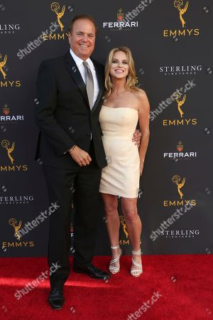 David Goldstein, Dorothy Lucey. David Goldstein, left, and Dorothy Lucey arrive at the 71st Los Angeles Area Emmy Awards at the Saban Media Center at the Television Academy's North Hollywood, Calif. headquarters on