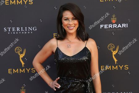 Stock Photo of Cher Calvin arrives at the 71st Los Angeles Area Emmy Awards at the Saban Media Center at the Television Academy's North Hollywood, Calif. headquarters on