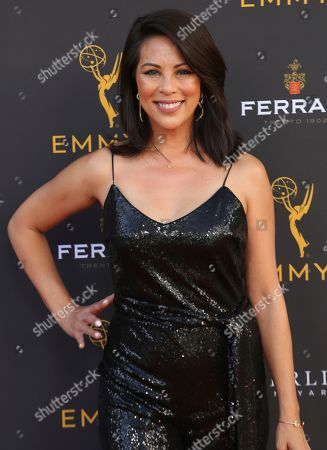 Cher Calvin arrives at the 71st Los Angeles Area Emmy Awards at the Saban Media Center at the Television Academy's North Hollywood, Calif. headquarters on
