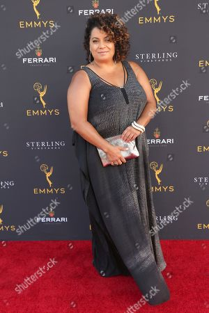 Michaela Pereira arrives at the 71st Los Angeles Area Emmy Awards at the Saban Media Center at the Television Academy's North Hollywood, Calif. headquarters on