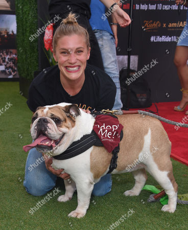 Katee Sackhoff and Cassie