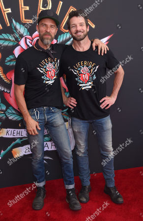 Stock Picture of JR Bourne and Ian Bohen