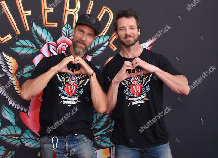 Editorial image of Kiehl's 10th Annual LifeRide for amfAR, Arrivals, Los Angeles, USA - 27 Jul 2019