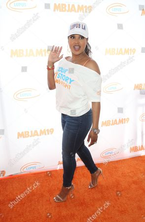 Editorial photo of 3rd Annual MBJAM19, Arrivals, Dave & Buster's, Los Angeles, USA - 27 Jul 2019