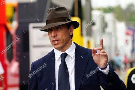 27.07.2019, Hockenheim Ring, Hockenheim, Formula 1 Mercedes-Benz Grand Prix of  Germany 2019  ,  Toto Wolff (Mercedes) Retrolook