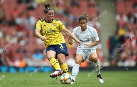 Editorial picture of Arsenal Women v Bayern Munich Women, Emirates Cup, Football, Emirates Stadium, London, UK- 28 Jul 2019