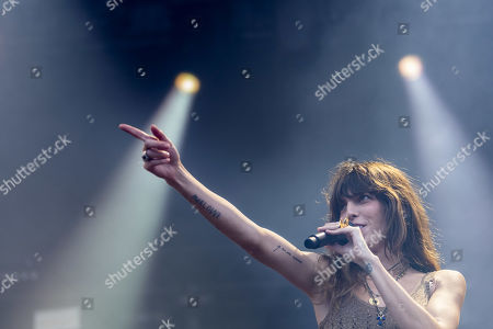 Lou Doillon performs on Les Arches stage, during the 44th edition of the Paleo Festival, in Nyon, Switzerland, 28 July 2019. The Paleo is an open-air music festival in the western part of Switzerland that runs from 23 to 28 July.