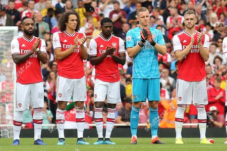 Editorial picture of Arsenal v Olympique Lyonnais, Emirates Cup, Football, the Emirates Stadium, London, Greater London, United Kingdom - 28 Jul 2019