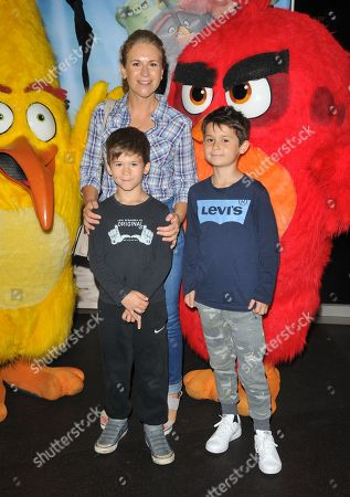 Stock Picture of Harriet Scott and sons Louis Bloom and Max Bloom