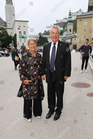 Margit Fischer and Heinz Fischer
