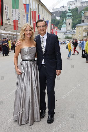 Katja Burkard and Hans Mahr