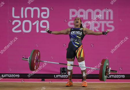 Editorial image of Pan Am Games, Lima, Peru - 28 Jul 2019