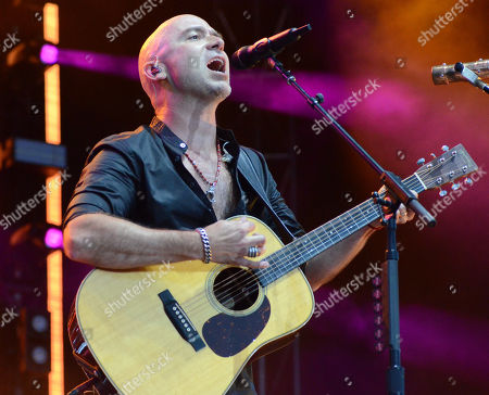 Lead singer Ed Kowalczyk of the band Live performs live at Fox Cities Stadium in Appleton, Wisconsin