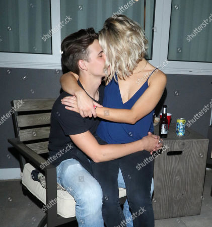 Stock Photo of Tanner Buchanan and Lizze Broadway