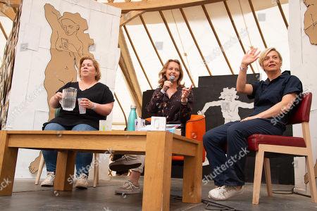 Katy Brand, Rosie Wilby and Miranda Sawyer