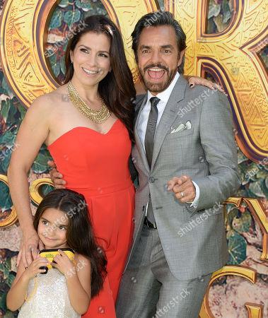 Aitana Derbez, Eugenio Derbez and Alessandra Rosaldo