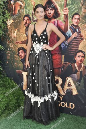 """Madeleine Madden attends the LA premiere of """"Dora and the Lost City of Gold"""" at Regal Cinemas L.A. LIVE, in Los Angeles"""
