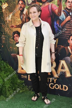 """Adriana Barraza attends the LA premiere of """"Dora and the Lost City of Gold"""" at Regal Cinemas L.A. LIVE, in Los Angeles"""