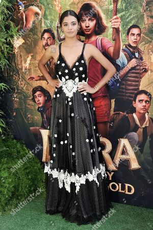 """Stock Picture of Madeleine Madden attends the LA premiere of """"Dora and the Lost City of Gold"""" at Regal Cinemas L.A. LIVE, in Los Angeles"""