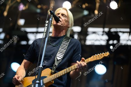 Editorial picture of Paul Weller in concert at Edinburgh Castle, Edinburgh, Scotland, UK - 11 Jul 2019