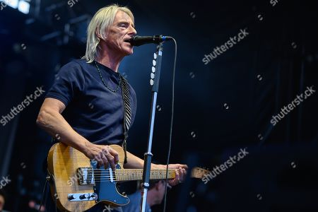 Stock Picture of Paul Weller