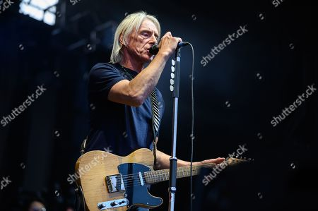 Editorial image of Paul Weller in concert at Edinburgh Castle, Edinburgh, Scotland, UK - 11 Jul 2019