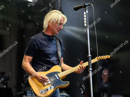 Editorial photo of Paul Weller in concert at Edinburgh Castle, Edinburgh, Scotland, UK - 11 Jul 2019