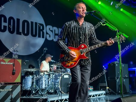 Editorial picture of Ocean Colour Scene in concert at Motherwell Civic Centre Concert Hall, Motherwell, Scotland, UK - 25 Jul 2019