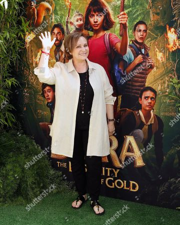 Adriana Barraza arrives for the premiere of 'Dora and the Lost City of Gold' at the Regal Cinemas LA Live in Los Angeles, California, USA, 28 July 2019. The movie opens in the USA on 09 August 2019.