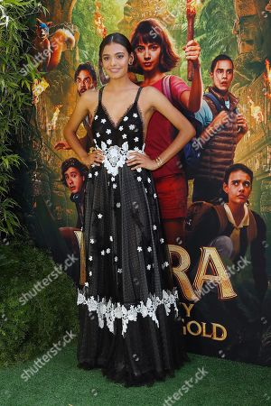 Madeleine Madden arrives for the premiere of 'Dora and the Lost City of Gold' at the Regal Cinemas LA Live in Los Angeles, California, USA, 28 July 2019. The movie opens in the USA on 09 August 2019.