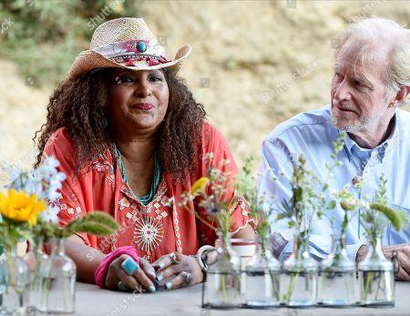 Pam Grier, Ed Begley Jnr.