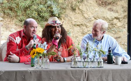 Stock Picture of David Koechner, Pam Grier, Ed Begley Jnr.