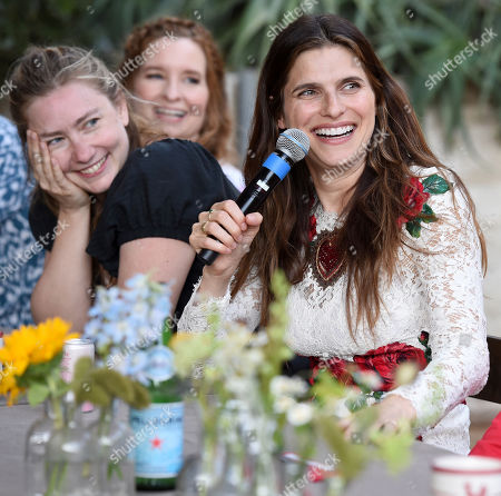 Stock Image of Lennon Parham, Elizabeth Meriwether, Lake Bell