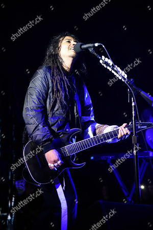 Editorial image of Korn in concert at the Coral Sky Amphitheatre, West Palm Beach, USA - 28 Jul 2019