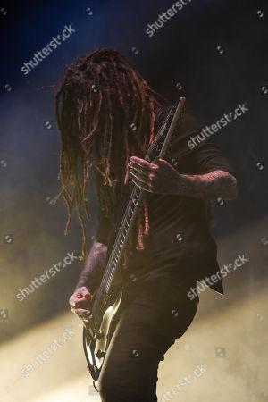 Stock Picture of Korn - James Shaffer