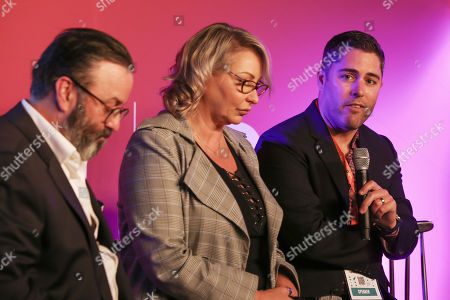 Brian Gallagher (Chief Sales Officer, Southern Cross Austereo), Louise Barrett (Louise Barrett Managing Director, National Sales News Corp) and Jonathan Waecker (Chief Marketing Officer, The Warehouse Group)