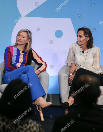 Aisling Finch (Marketing Director, Australia & New Zealand, Google) and Suzana Ristevski (CMO, NAB)