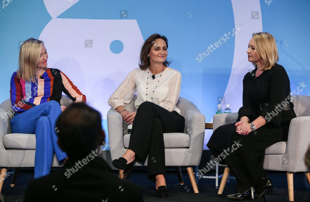 Aisling Finch (Marketing Director, Australia & New Zealand, Google), Suzana Ristevski (CMO, NAB) and Jenni Dill (Chief Marketing Officer, McDonalds Australia)