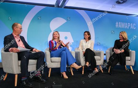 John Broome (CEO, Australian Association of National Advertisers), Aisling Finch (Marketing Director, Australia & New Zealand, Google), Suzana Ristevski (CMO, NAB) and Jenni Dill (Chief Marketing Officer, McDonalds Australia)
