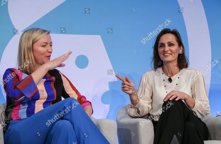 Stock Photo of Aisling Finch (Marketing Director, Australia & New Zealand, Google) and Suzana Ristevski (CMO, NAB)