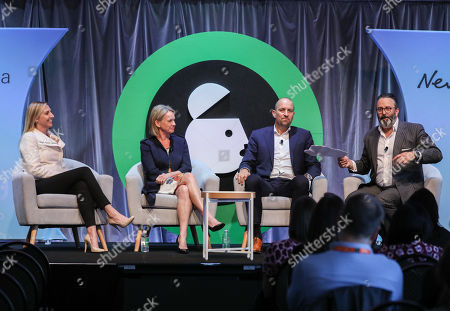 Clare Starling (Regional General Manager, Gold Coast, Northern NSW & Ipswich News Corp Australia), Fiona Nash (Strategic Adviser - Regional Development, Charles Sturt University), Stephen Leeds (CEO, The Media Store) and Brian Gallagher (Chief Sales Officer, Southern Cross Austereo)