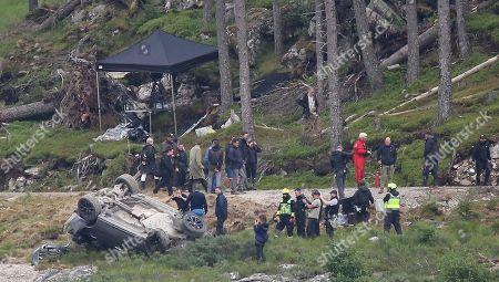 Editorial picture of James Bond film set, Aviemore, Scotland, UK - 28 Jul 2019